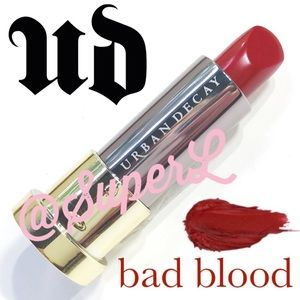 3/$15 Urban Decay Vice Lipstick Bad Blood Matte